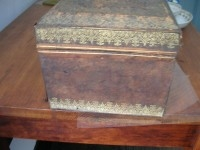 Brown Leather Box