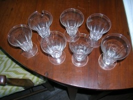 Eight Glass Wine Flutes