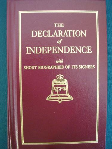 the declaration of independence text. The Declaration of